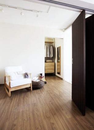 Resort-feel five-room HDB with hidden storage space